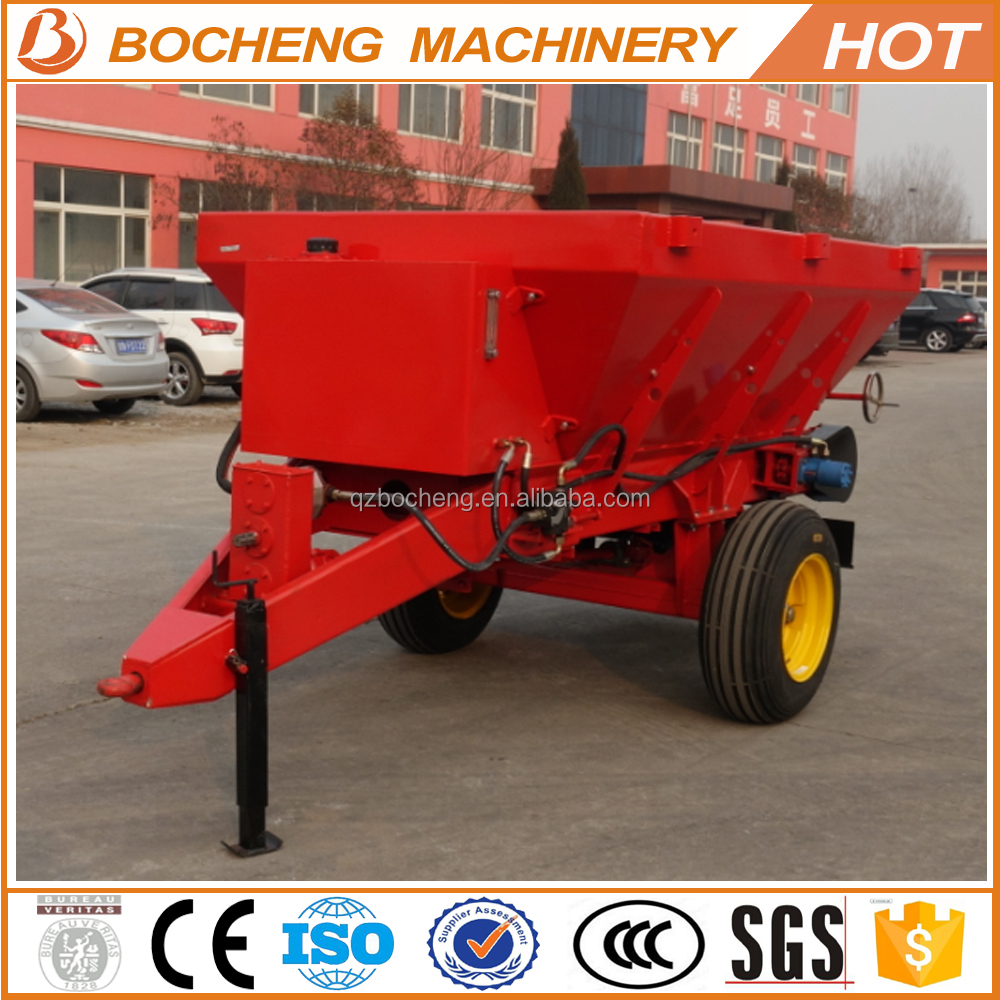 1000L Three <strong>point</strong> mounted PTO driven fertilizer spreader for sale