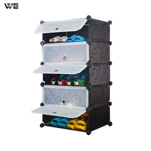 Custom made shoe rack cabinet,plastic shoe cabinet