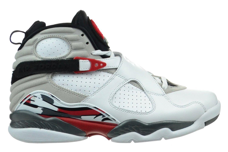 91e29e34c60c8 Get Quotations · Aj Retro Basketball Shoes Black High-Top Sneakers 8 Air  GUOGUGO®Basketball Shoes Sports