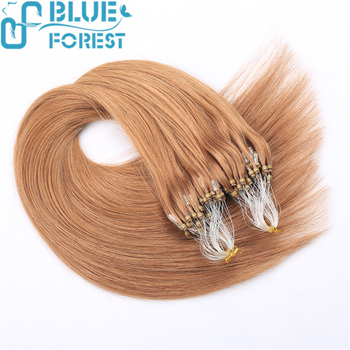 Top Selling Peruvian Remy Wavy Micro Ring Hair Extensions - Buy Micro ...