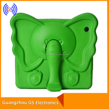 Elephant Plastic Stand Case For Ipad 2/3/4,Animal Shape 7 Tablet Case For Kids