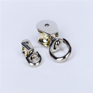 Top Sales Zinc Alloy Small Metal Pulley With Plastic Wheel Pulley HID-NA04