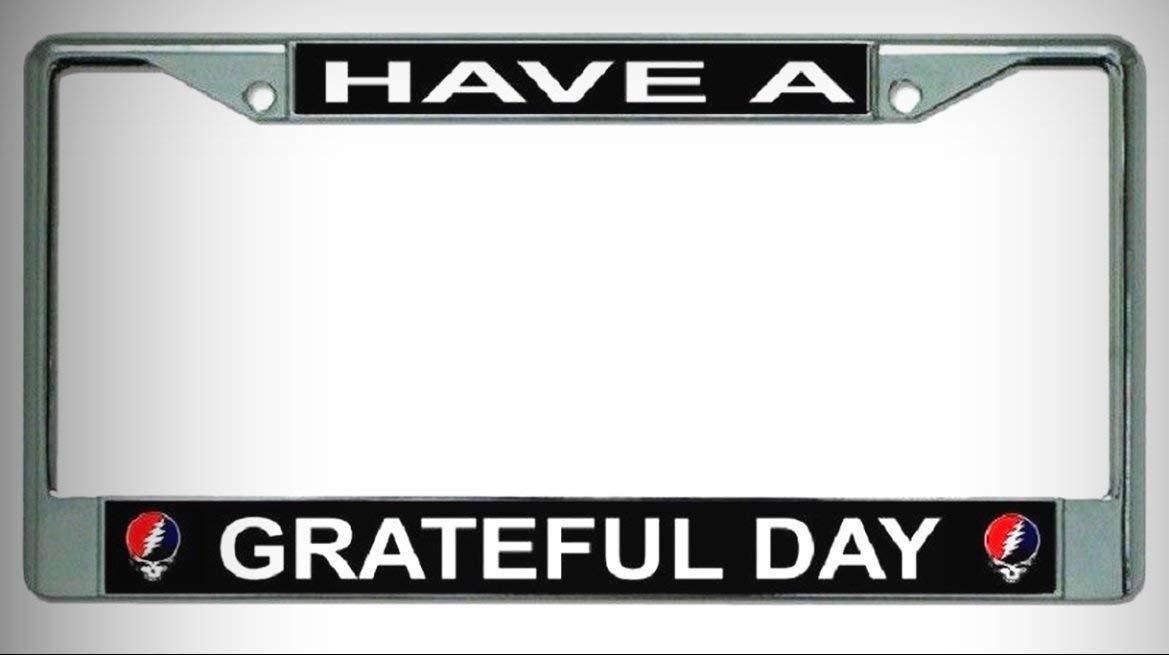 Buy Buick license plate frame chrome metal, carbon fiber details ...