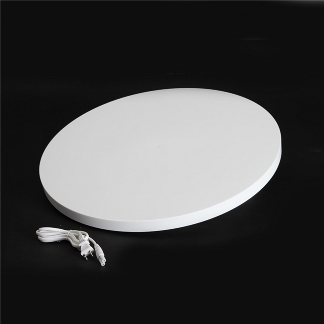 hot sales 360 Degree Velvet Top Electric Motorized Rotating Display Turntable <strong>stand</strong> for Model Jewelry Hobby