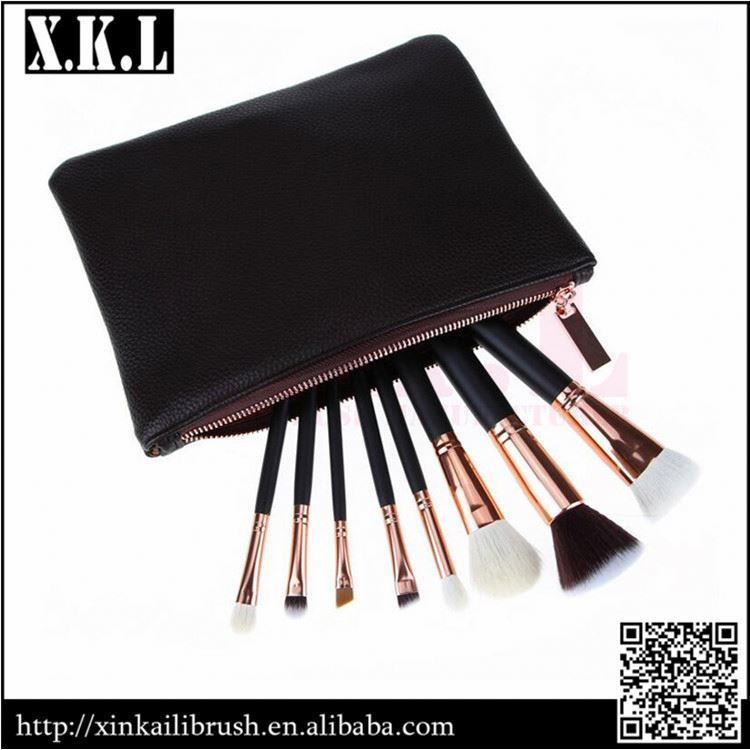 Hot Sale 8Pcs Portable Makeup Brush Set