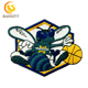 Custom Design Patch For NBA Baskeball Hornets Embroidery Patch