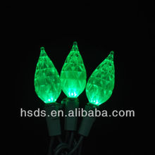 holiday decorative teardrop led string christmas rope light