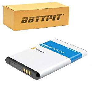 Battpit™ New Cell/Smart Phone Battery Replacement for Samsung AB043446BE (800 mAh)