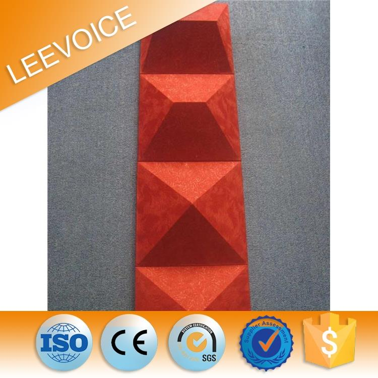 fabric acoustic panel cinema soundproof material