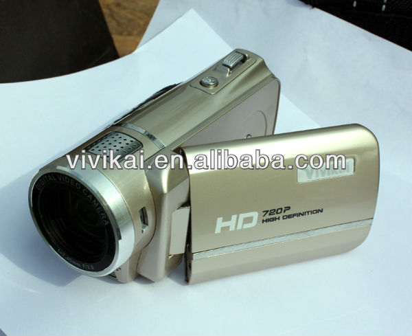 HD Digital Video Camcorder with Voice Recorder Music Player Webcam