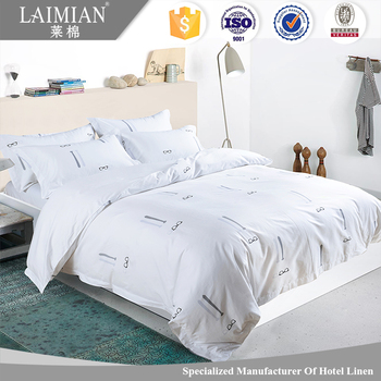 New Design Bedding Set Embroidered Personalized Bed Sheets In Delhi