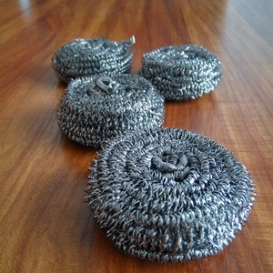 Daily necessity stainless steel 410 wire flat scourer/flat scrubber from factory