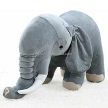 Baby Soft Plush Elephant Sleep Pillow Baby Kids Long Nose Elephant Doll Soft Plush Stuff Toys Lumbar Cushion Pillow By JZ-JJ125