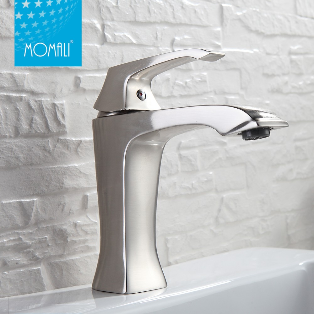 2018 Faucets Made China Hot Sale Momali Chrome Bathroom Basin Faucet