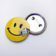Cute Smile Face Cheap Round Advertising Tin Button Badge Pin/Tinplate Badge Maker Suppliers/Manufacturers