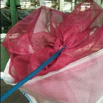 Drying Well 4 Side Mesh Fabric Big Bag Firewood/wood Big Bag ...