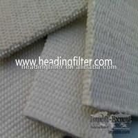 nomex short fiber airslide fabric conveyor belt in cement industry