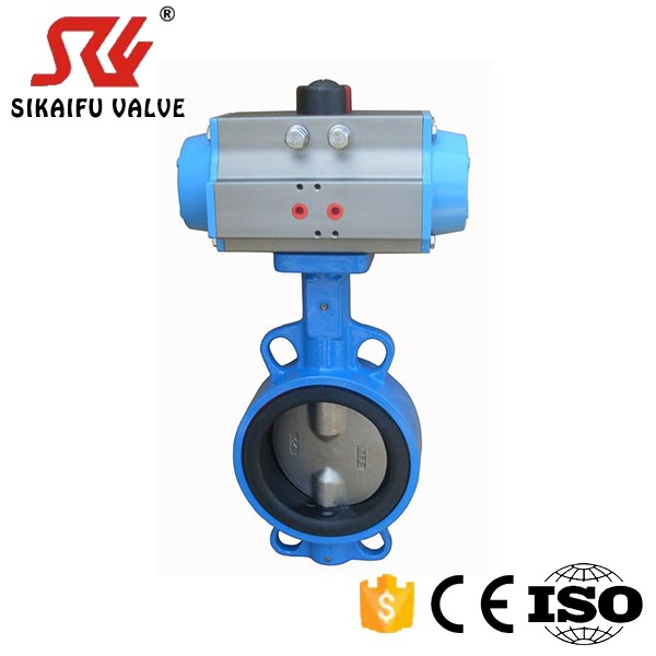 12 inch DI Pneumatic Butterfly Valve made in China for <strong>Water</strong> <strong>Treatment</strong>