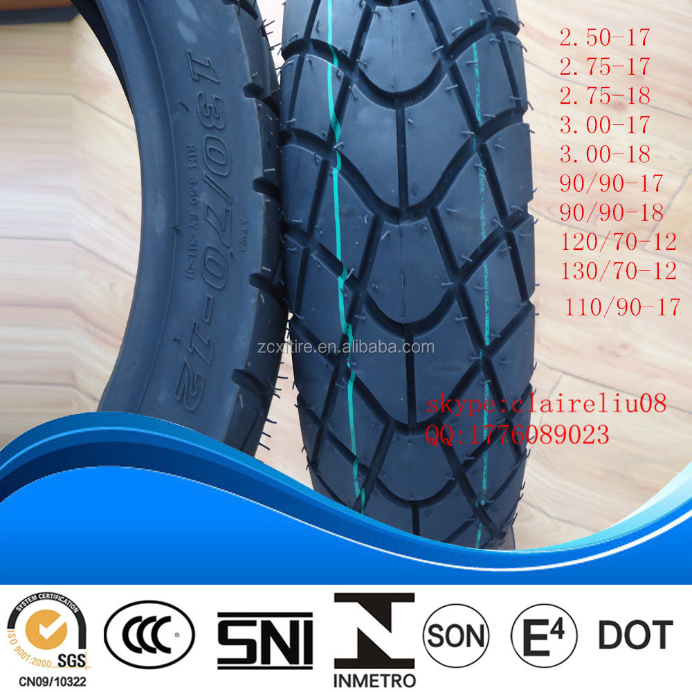 Hotsale motorcycle tires 110/90-17 90/90-18