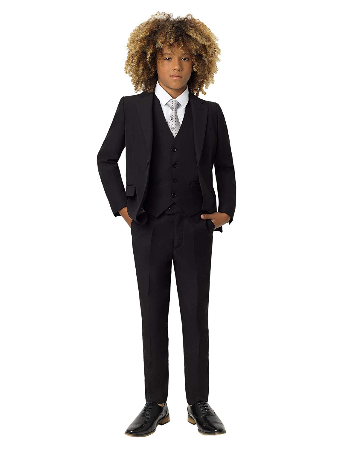 0cdf9dbd4a Get Quotations · Roco Boys Modern Fit Suit