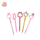 Promotional novelty gift pen rabbit shoes crown ball pen