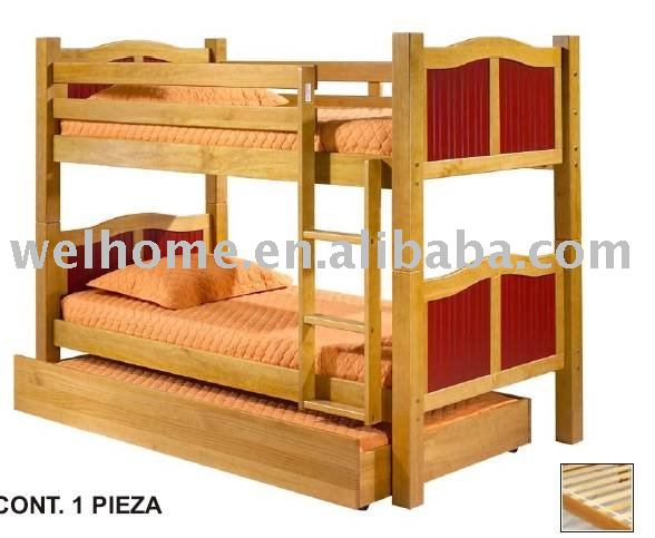 Wooden Bunk Bed Trundle Bed Wooden Furniture Buy Bunk Bed Wooden