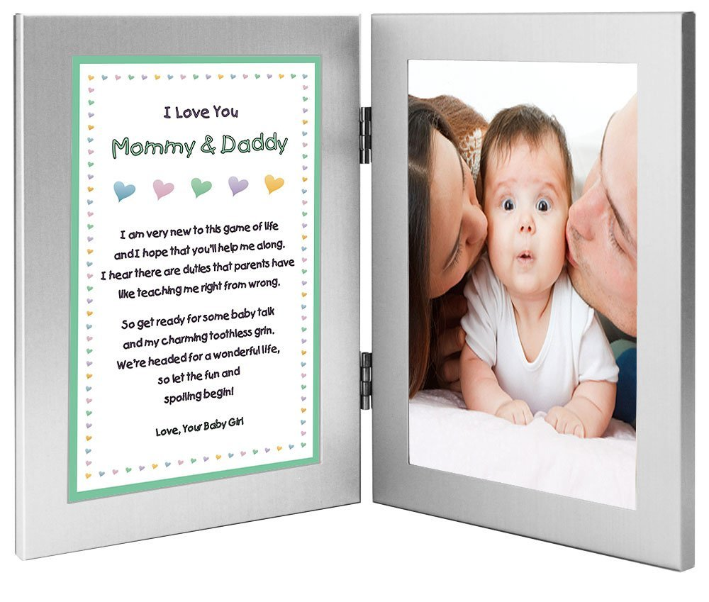 Buy New Parents Frame and Poem From Baby Girl - Mommy and Daddy From ...