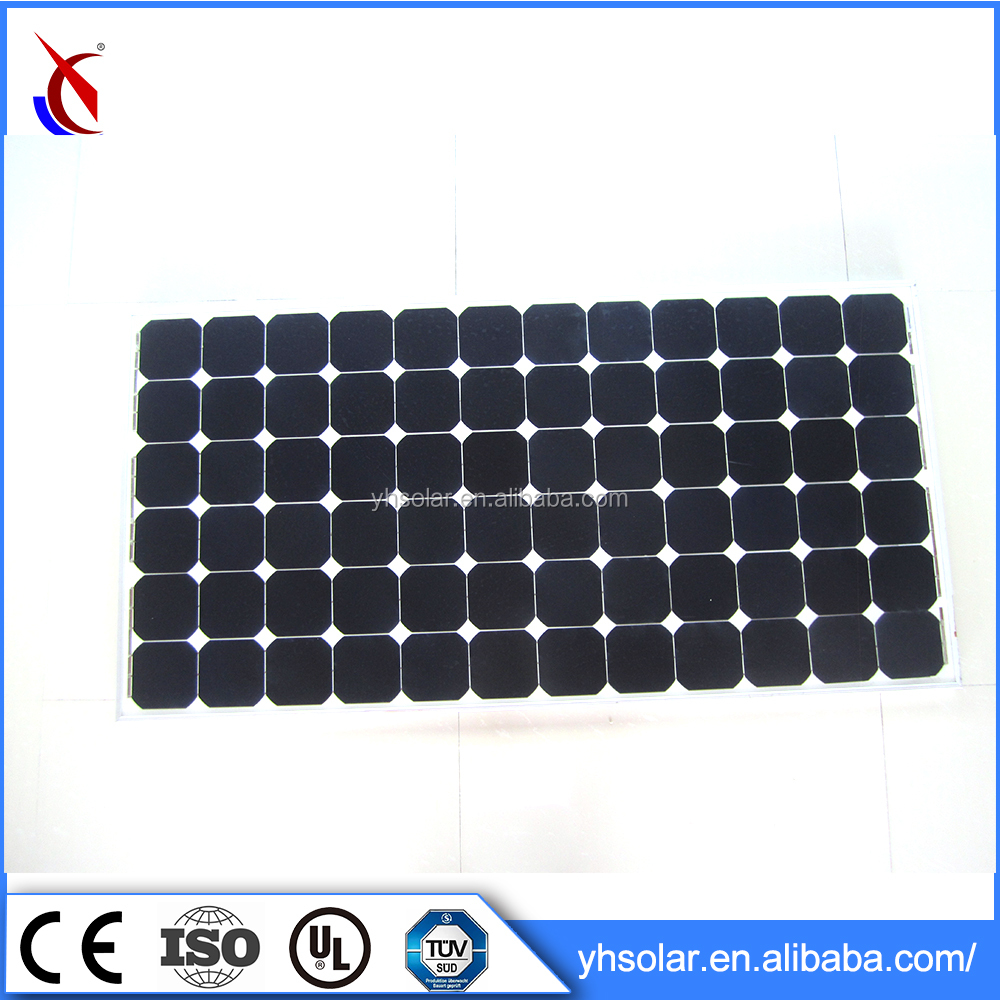 High watt solar panel , 24V 200watt mono solar panel wholesale