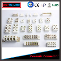 Heat Resistant Ceramic Porcelain Wire Terminal Block Connector Electrical ceramic terminal block