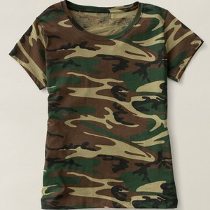 1b79788d926 ATS156 Mens Camo Crew Neck Short Sleeve Cotton Plain T Shirt Camouflage Tee  Shirt