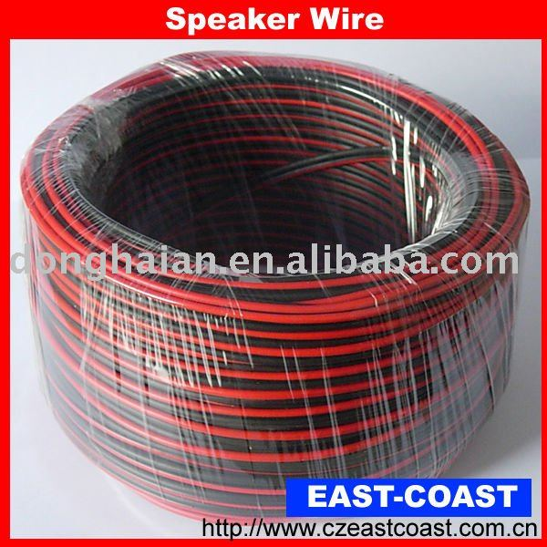 Home/car,Red&Black Speaker Wire