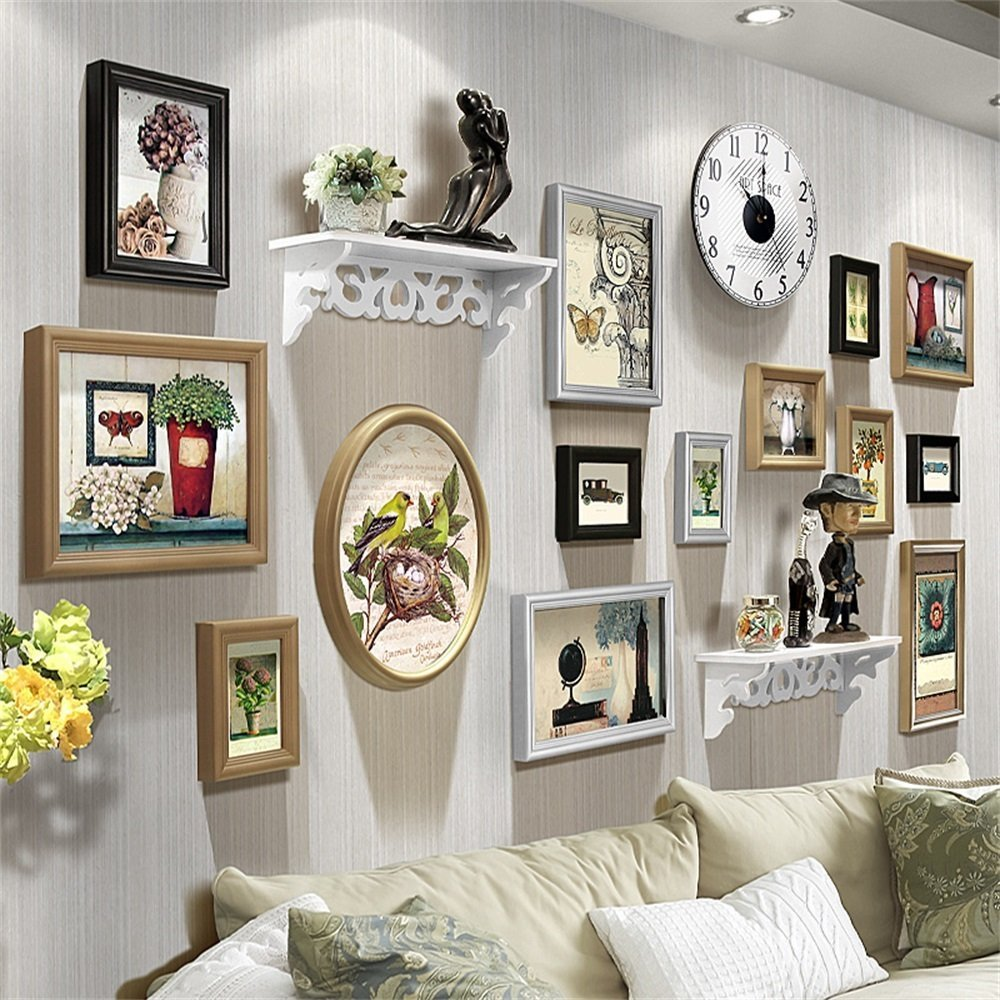 Buy Royal- European photo wall living room Creative personality ...