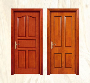 Competitive price paint free technics fancy bedroom wooden door designs for house