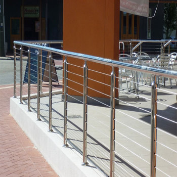 Galvanized Steel Pipe Balcony Railing Steel Pipe Or