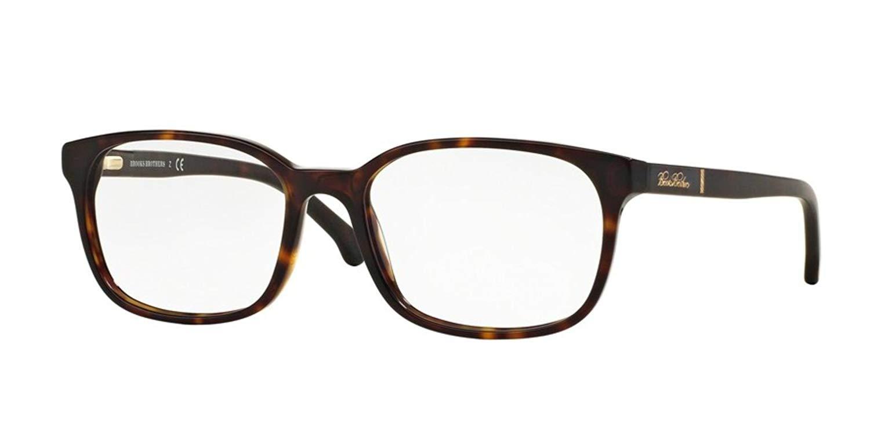 fe9b98c7f4 Get Quotations · Brooks Brothers BB2028 Eyeglass Frames 6096-54 - Dark  Tortoise matte Dark Tort