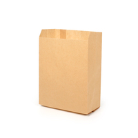 Takeaway small pe coated food paper bag for fast food