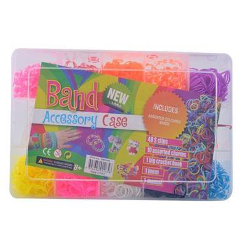 Children Fun Loom Rubber Bands And Bracelet Diy Multicolor Rubber