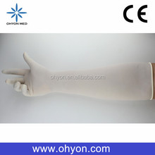 2016 Medical disposable best supplies obstetric gloves cheap latex gloves manufacturer