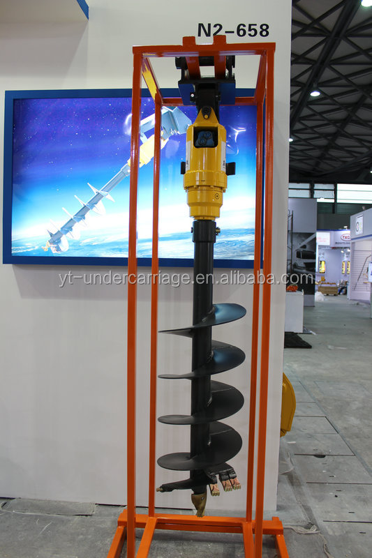 Hydraulic Auger, Earth Drill for Excavator Hyundai R80-7