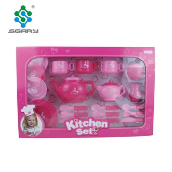 Promotion Cheap Price Plastic Kitchen Play Set Toys For Children