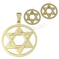 304 Stainless Steel Star Of David 4 Sets Of Small Metal Tin Boxes 912952