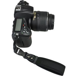 Shenzhen Photographic Equipment Custom Logo Black Neoprene Camera Hand Strap
