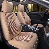 Fashion universal Waterproof PU leather car seat cover