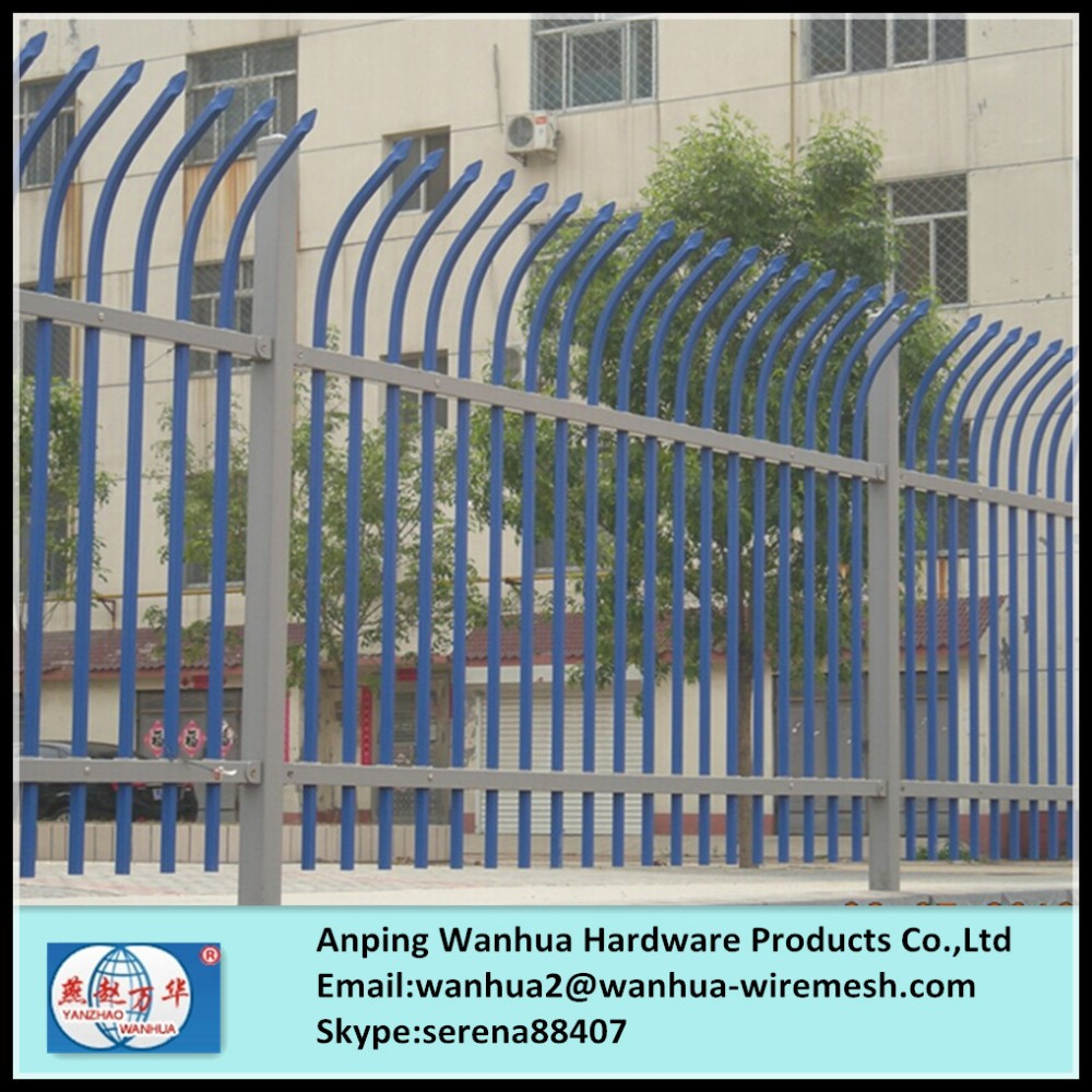 best offer pvc paint ornamental metal fence panels for garden wall