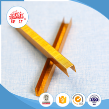 Hot selling Qianjiang nail screw factory fence staples 90 series
