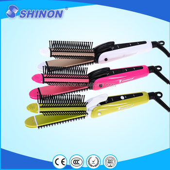 Fast Professional hair straightener with comb SH-8027