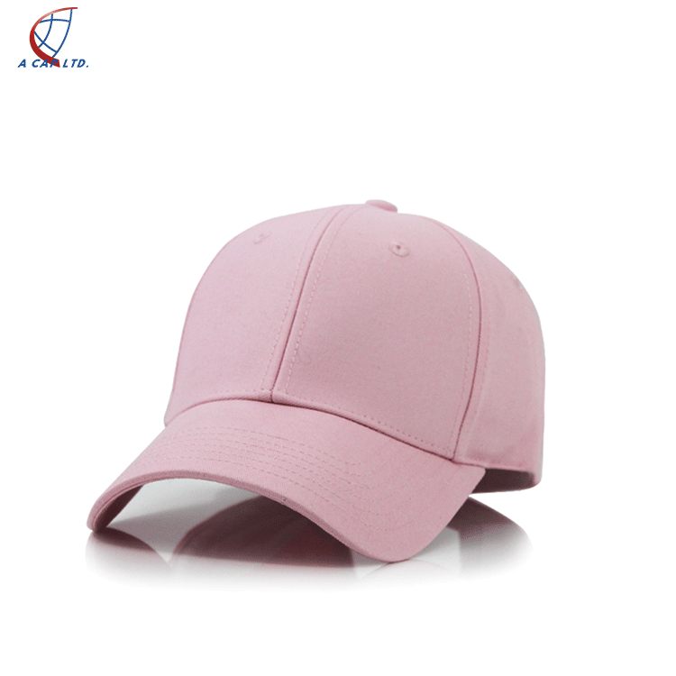 6 Panel Promotional Baseball With Logo Fitted  Flat Brim Snapback Cap