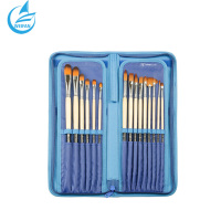 Top Grade Soft Fabric Paking Artist Brush Set Paintbrush Painting