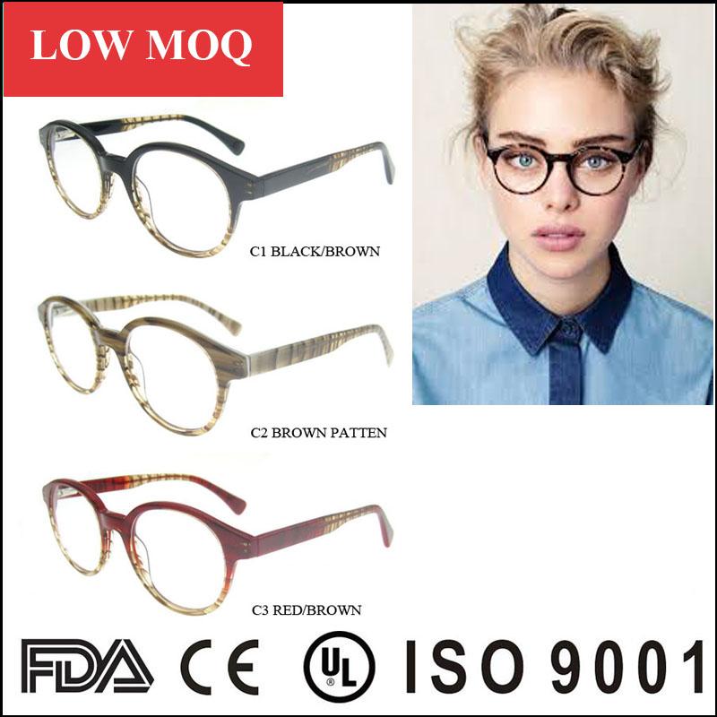 Moda mujer gafas, fábrica de China vintage óptico gafas, de calidad ...