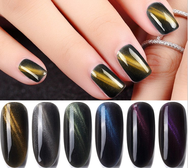soak Off Magnetic Cat Eyes uv/led gel polish OEM/ODM Factory Custom Private Logo